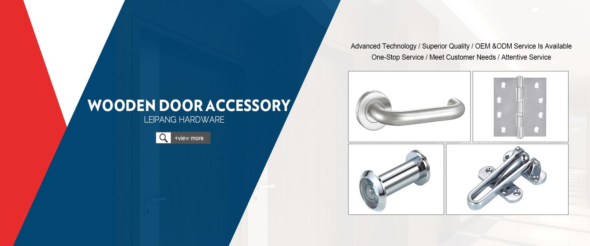 Wooden Door Accessory Series
