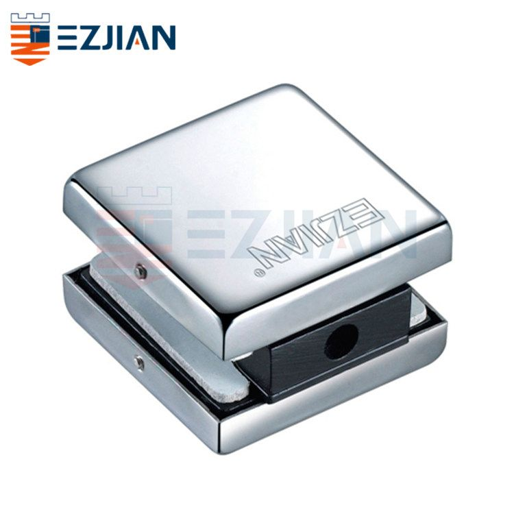 Connector for 2 glass panel with screw EJ-640