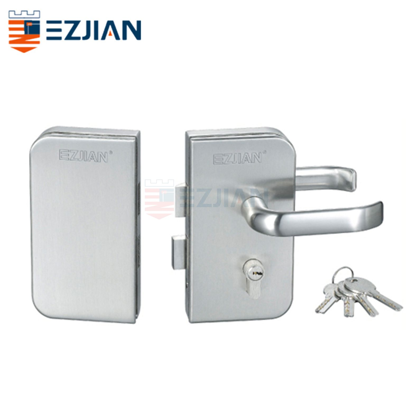 Glass Gate Lock EJ-9001