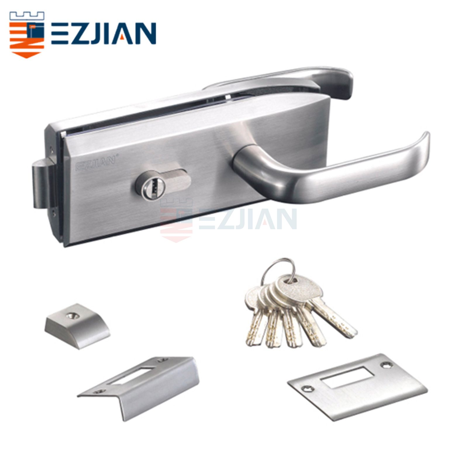 Glass Gate Lock EJ-9003