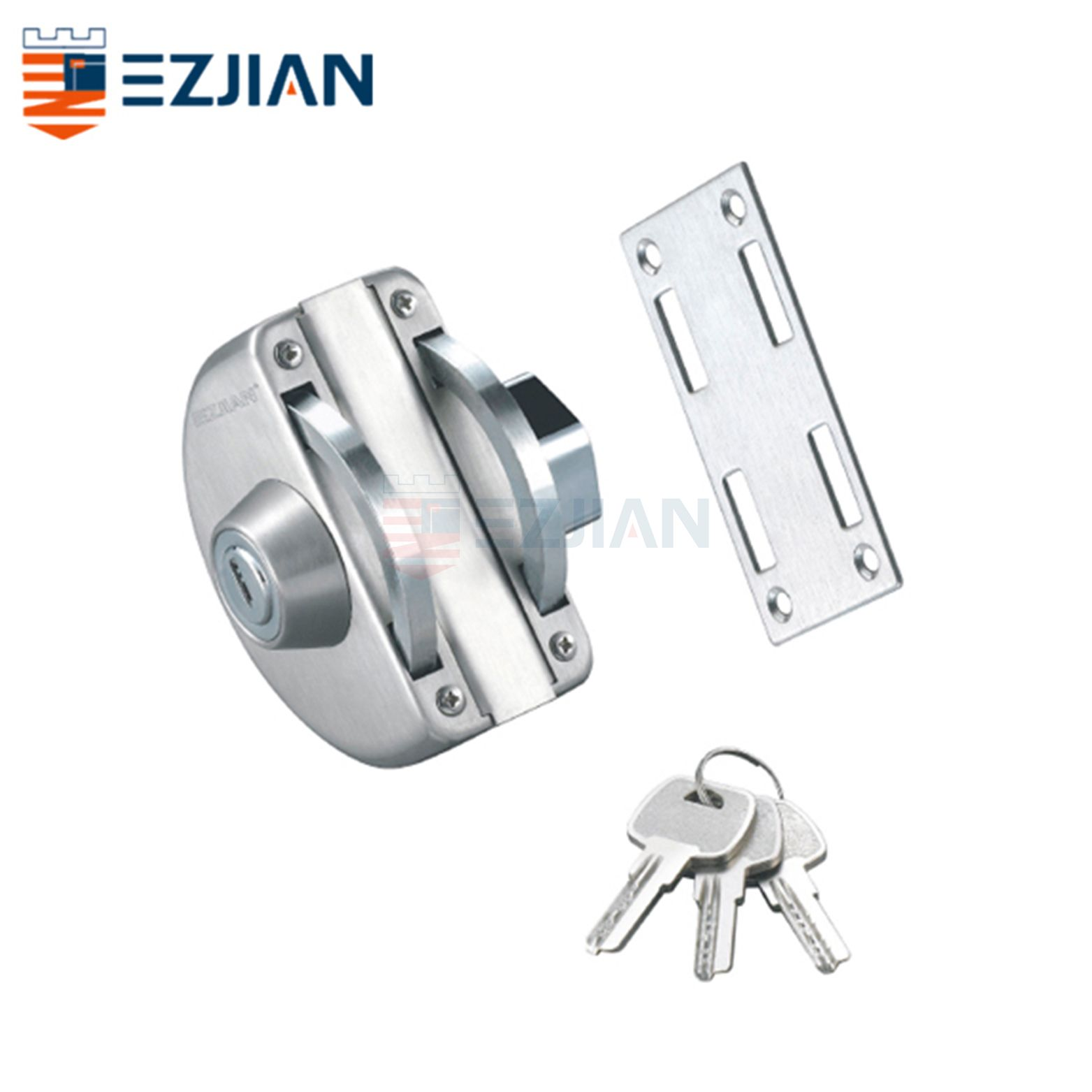 Glass Gate Lock EJ-9011