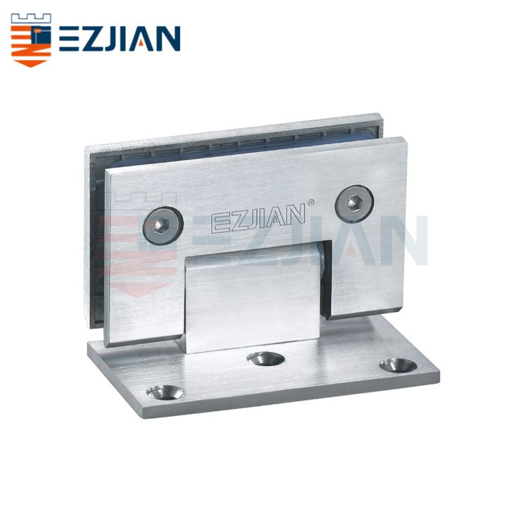 Shower Hinge-Wall to glass 90° one way EJ-1008