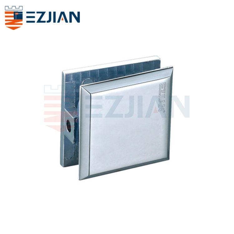 Glass Connector Fix clip 0° single hole EJ-1056S