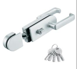 Glass Gate Lock EGL-9031